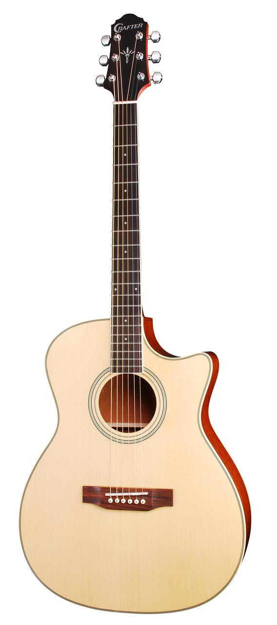 Crafter CR-HTC-100SEQ/N Solid top Electric/Acoustic
